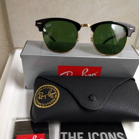 ray ban clubmaster sunglasses rb3016 w0365